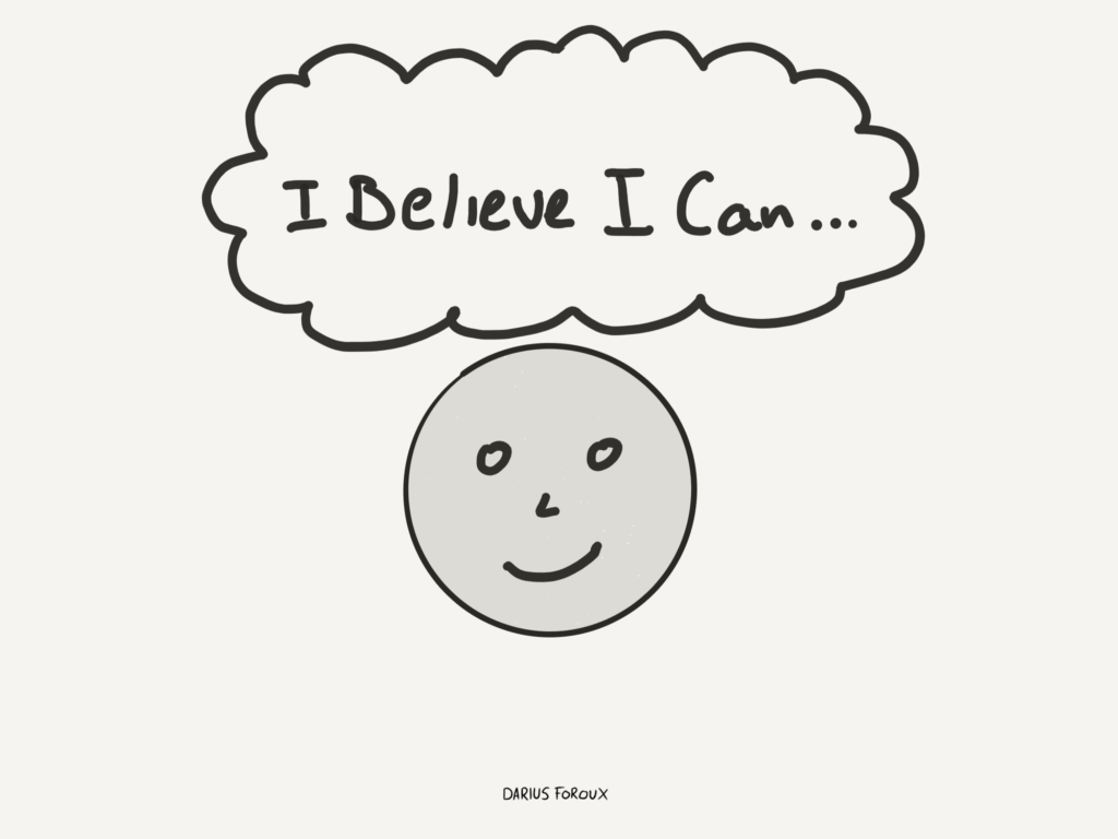 if you can believe it you can achieve it darius foroux