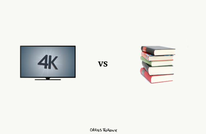 4k vs books