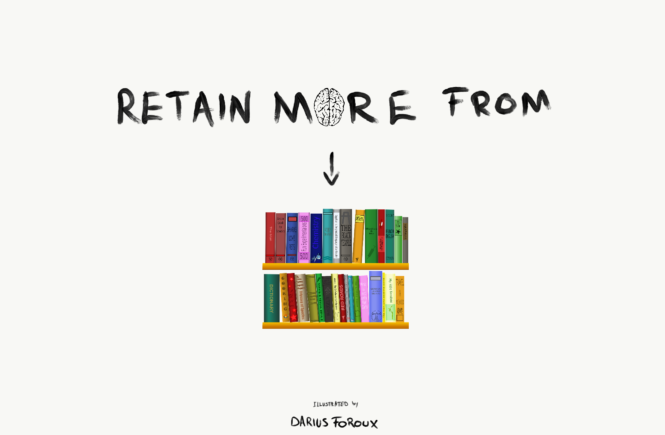 Retain More From The Books I Read